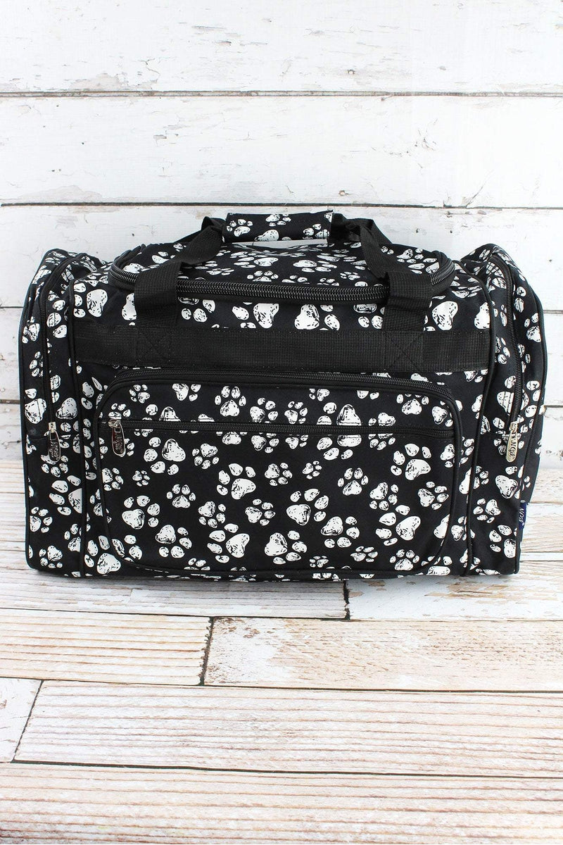 NGIL Puppy Prints Duffle Bag 20""