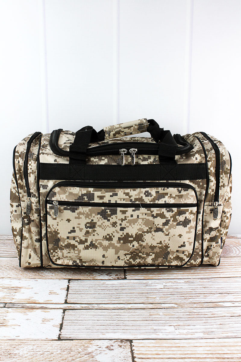 NGIL Digital Camo Duffle Bag 20""