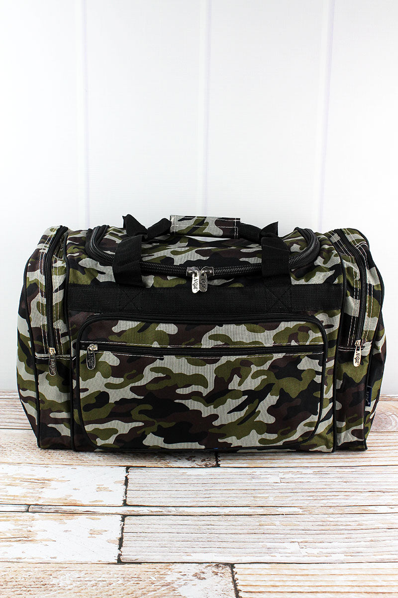 NGIL Army Camo Duffle Bag 20""
