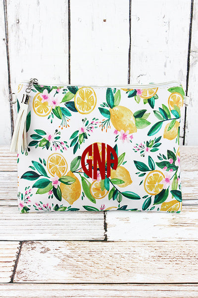 Lemon Grove Crossbody Clutch
