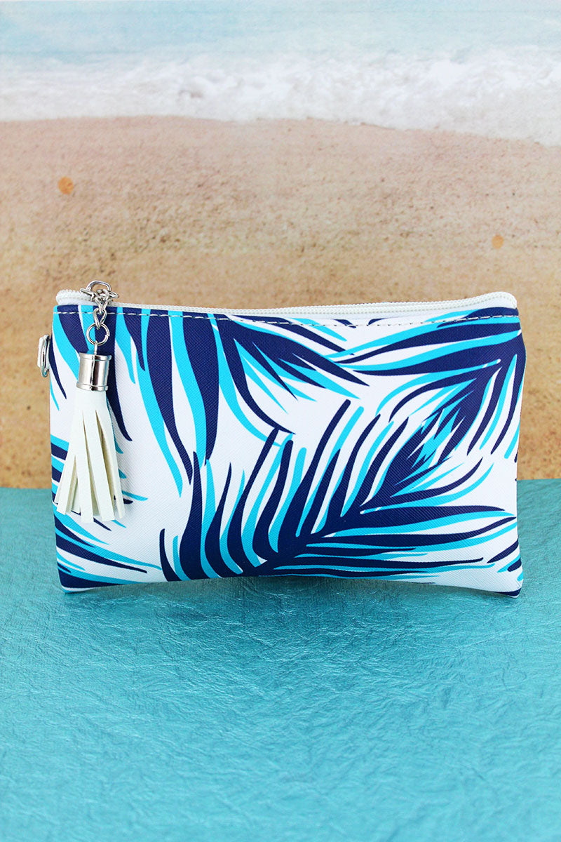 Tropical Travels Tassel Pouch