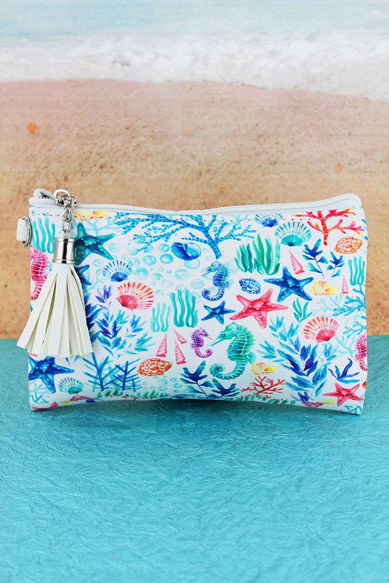 Under The Sea Tassel Pouch