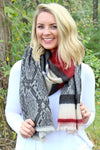 Wrapped Up In You Scarf, Black