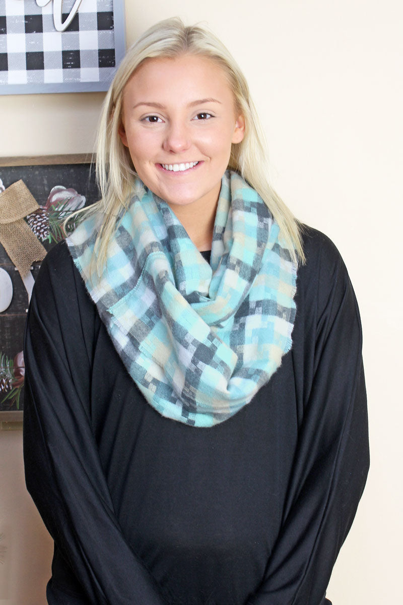 Bama Breeze Infinity Scarf, Mint