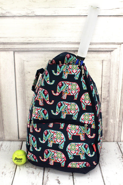 Preppy Ellie Tennis Backpack #ELE734-NAVY