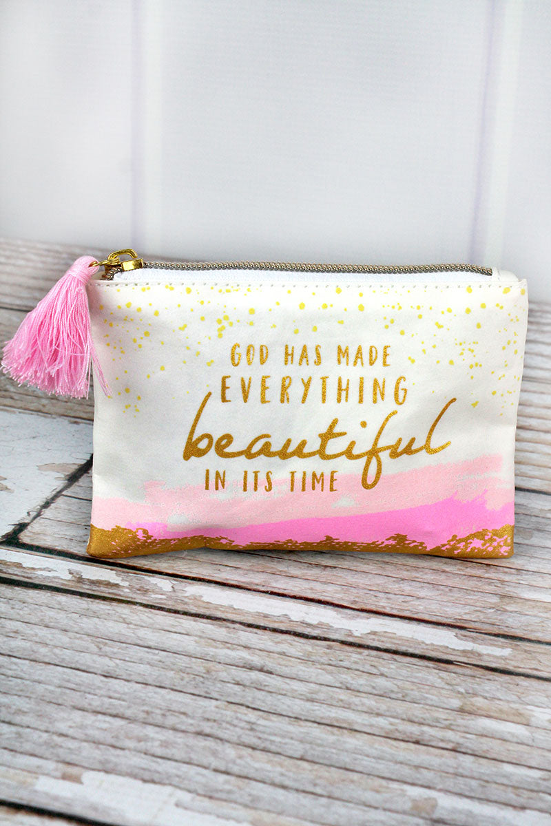 Beautiful Washable Paper Coin Purse