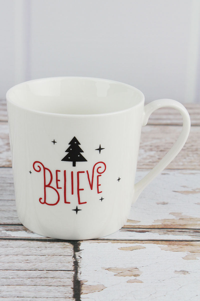 Believe Cafe Mug