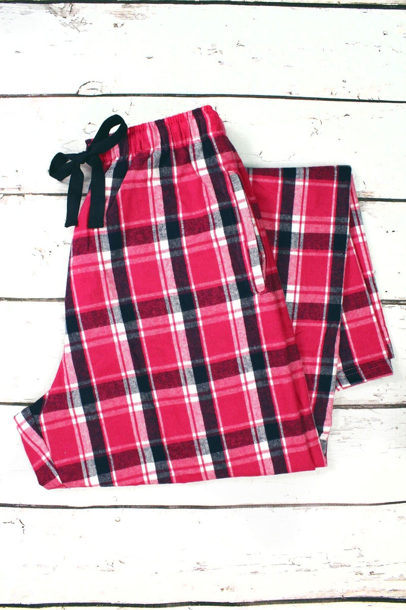 Manhattan Flannel Pajama Pant #F20NF *Personalize It (PLEASE ALLOW 3-5 BUSINESS DAYS. EXPEDITED SHIPPING N/A)