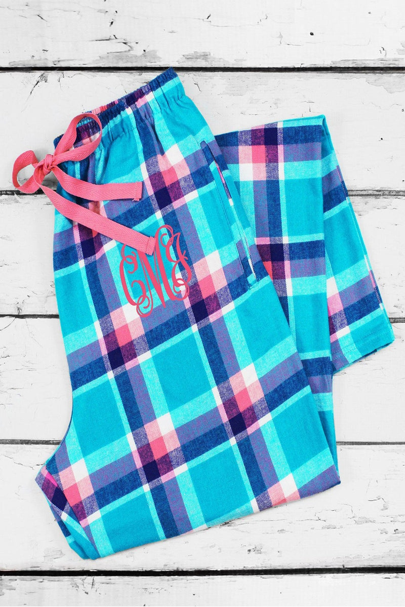 Pacific Surf Flannel Pajama Pant #F20PAC *Personalize It