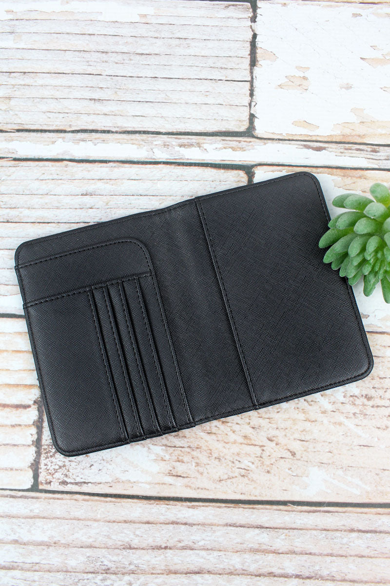Mr Faux Leather Passport Holder