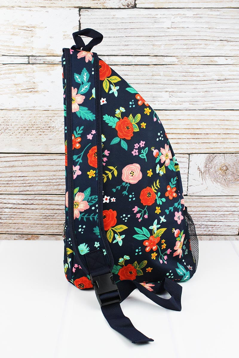 NGIL Spring Blossoms Sling Backpack