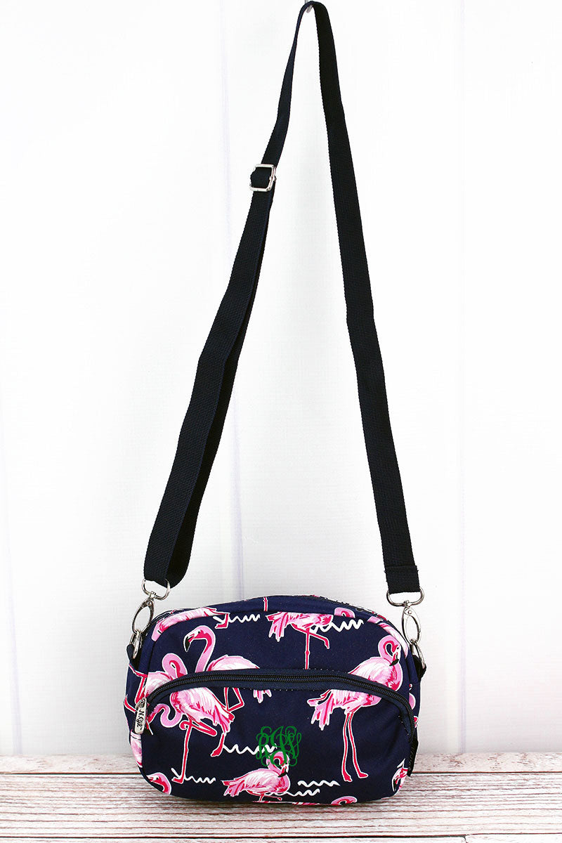 NGIL Flamingo Party Travel Crossbody Bag