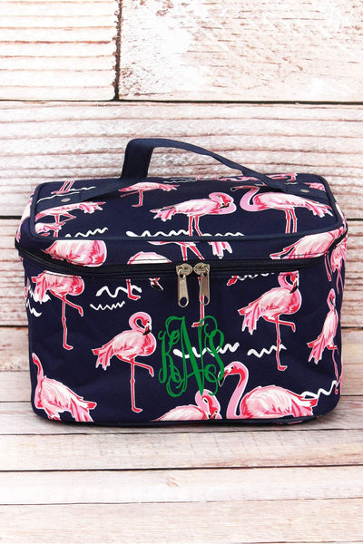 NGIL Flamingo Party Train Case