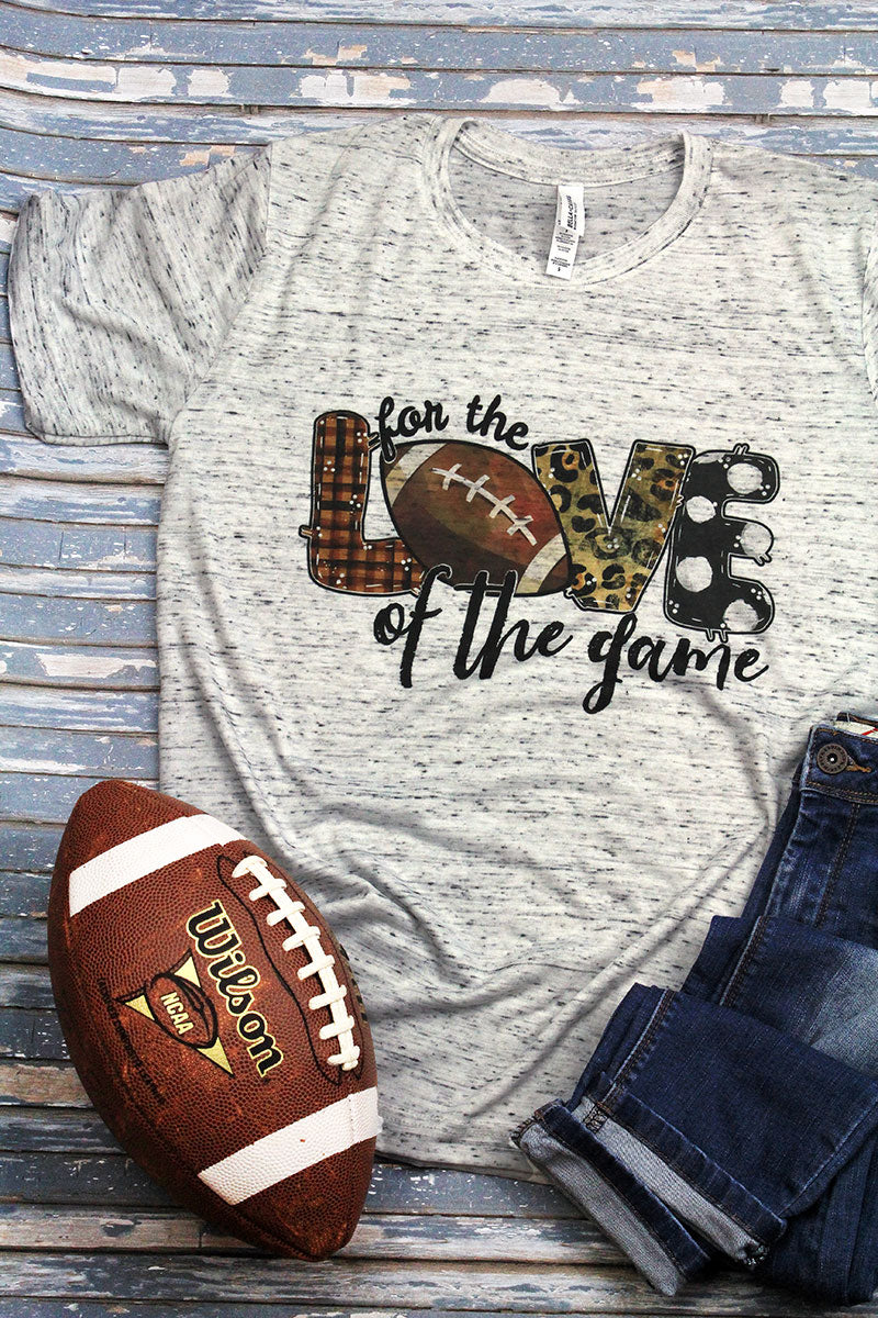 Football Love Of The Game Unisex Short Sleeve Tee