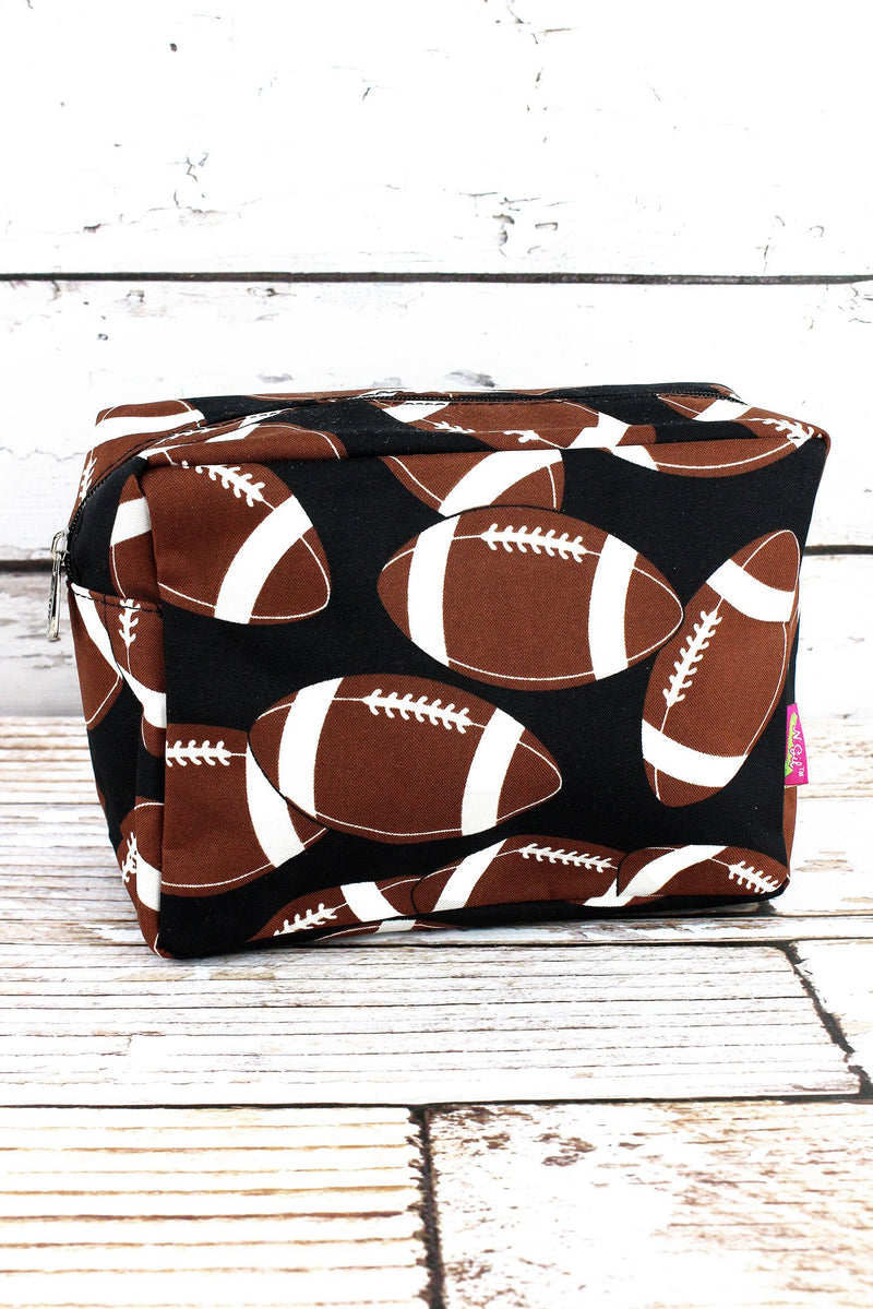 NGIL Football Cosmetic Case