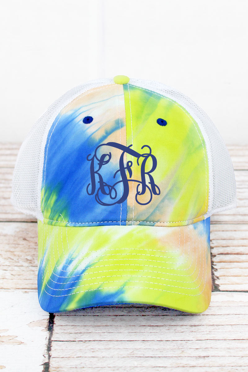 Sunrise Lido Tie-Dyed Trucker Cap