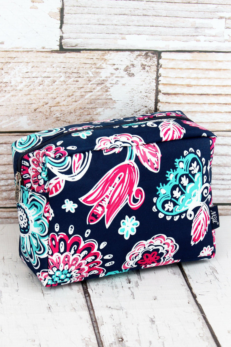 Summer Blooms Cosmetic Case