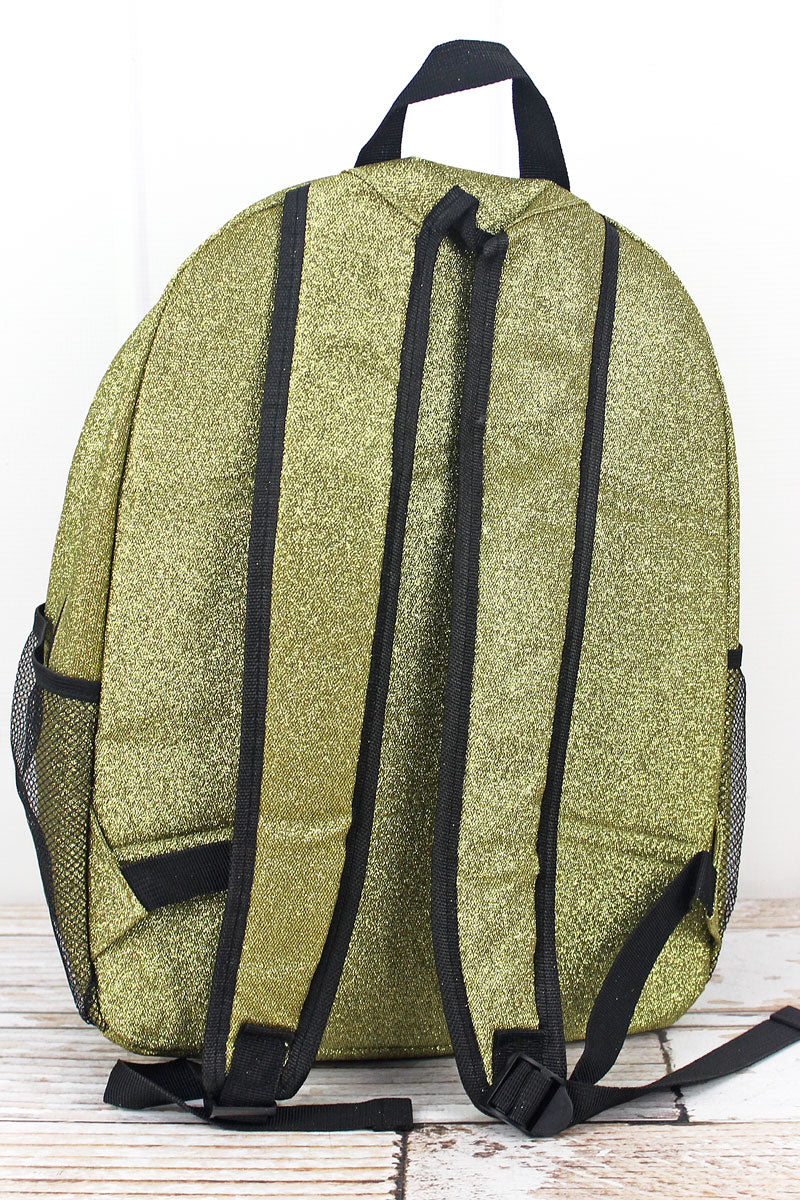 NGIL Gold Glitz & Glam Large Backpack