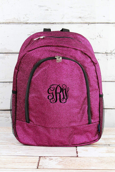 NGIL Hot Pink Glitz & Glam Large Backpack