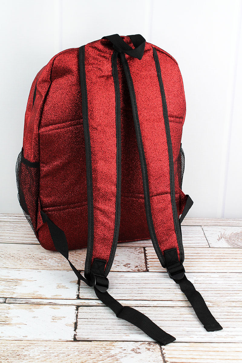 NGIL Red Glitz & Glam Large Backpack
