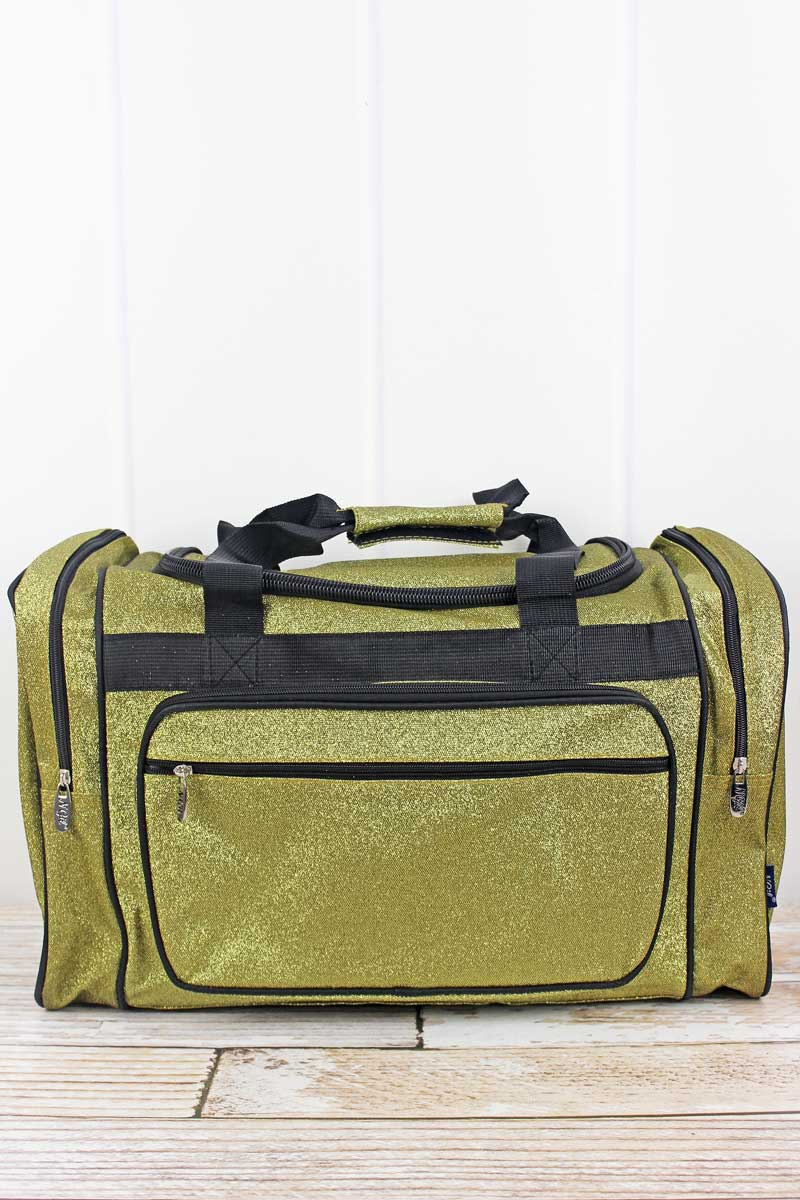 NGIL Gold Glitz & Glam Duffle Bag 20""