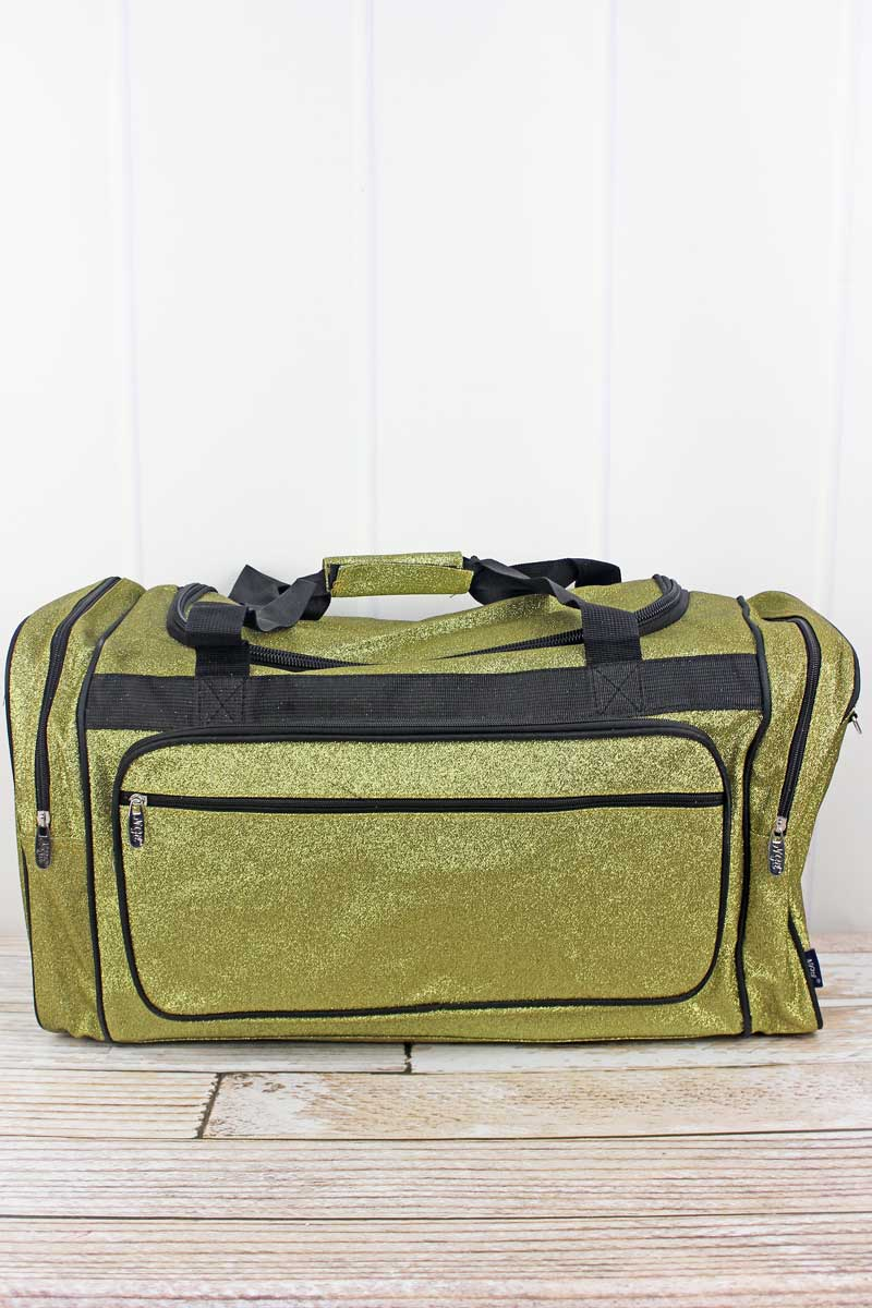 NGIL Gold Glitz & Glam Duffle Bag 23""