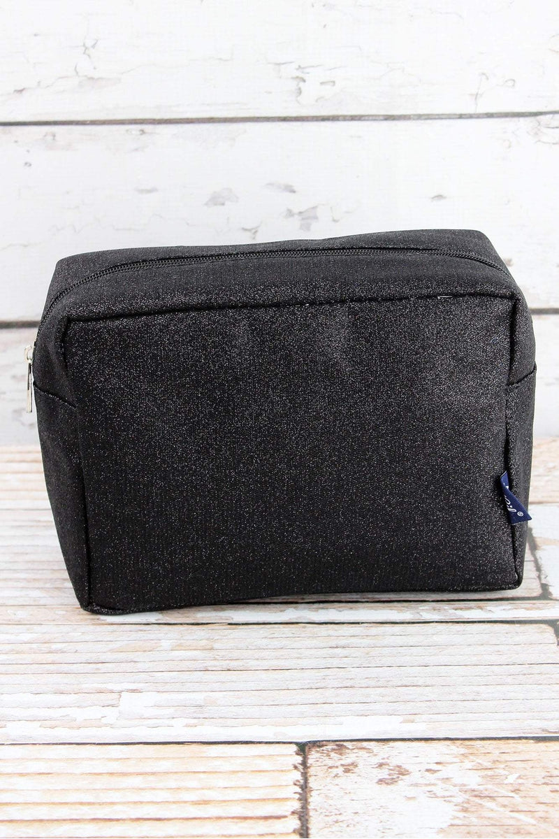 NGIL Black Glitz & Glam Cosmetic Case
