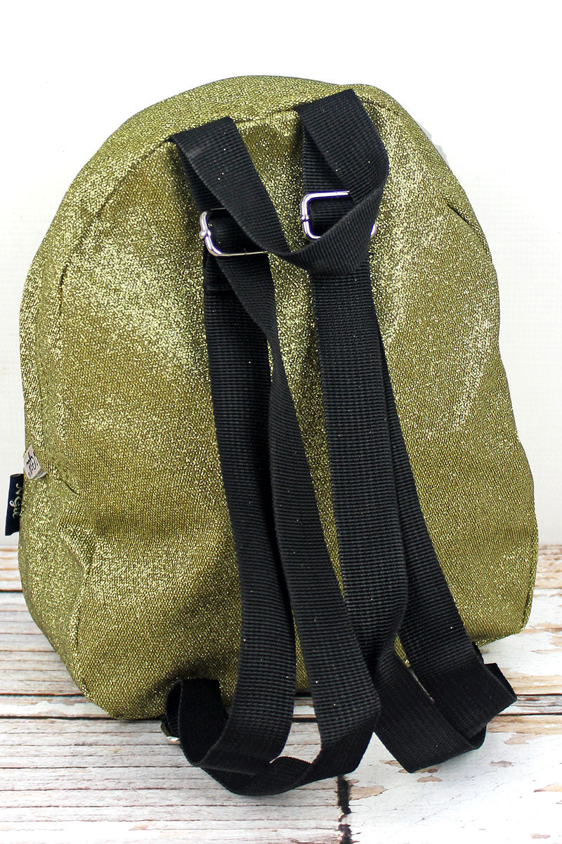 NGIL Gold Glitz & Glam Small Backpack