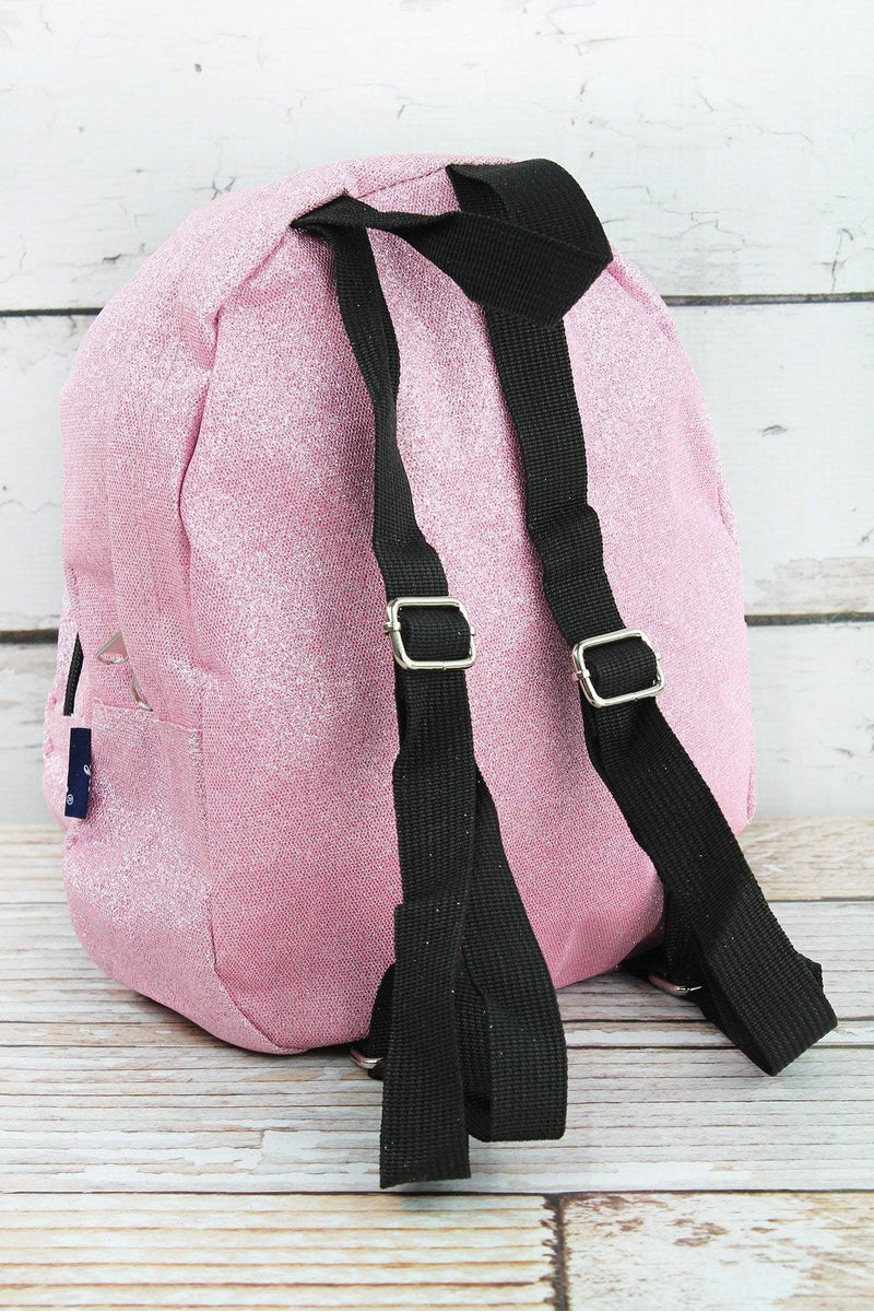 NGIL Pink Glitz & Glam Small Backpack