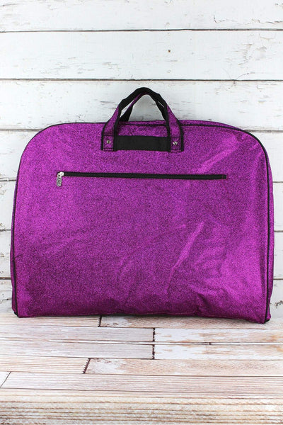 NGIL Purple Glitz & Glam Garment Bag
