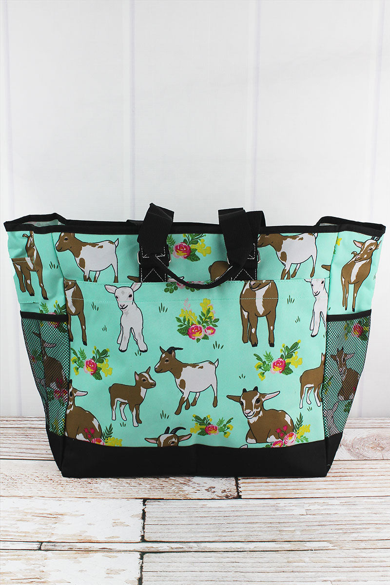 NGIL Giddy Goats Everyday Organizer Tote