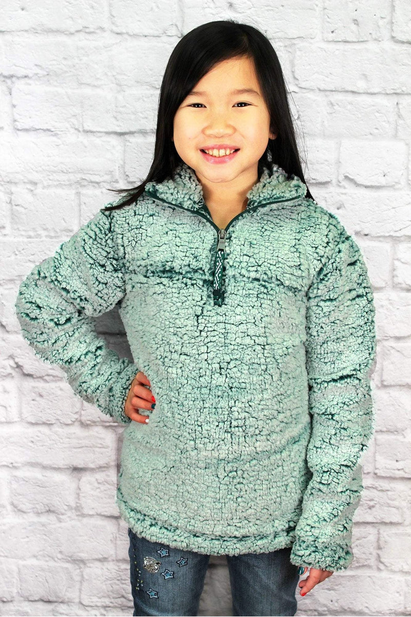 Youth Boxercraft Frosty Hunter Sherpa Pullover *Personalize It