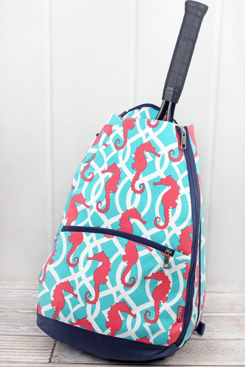 SALE! NGIL Hold Your Seahorses Tennis Backpack