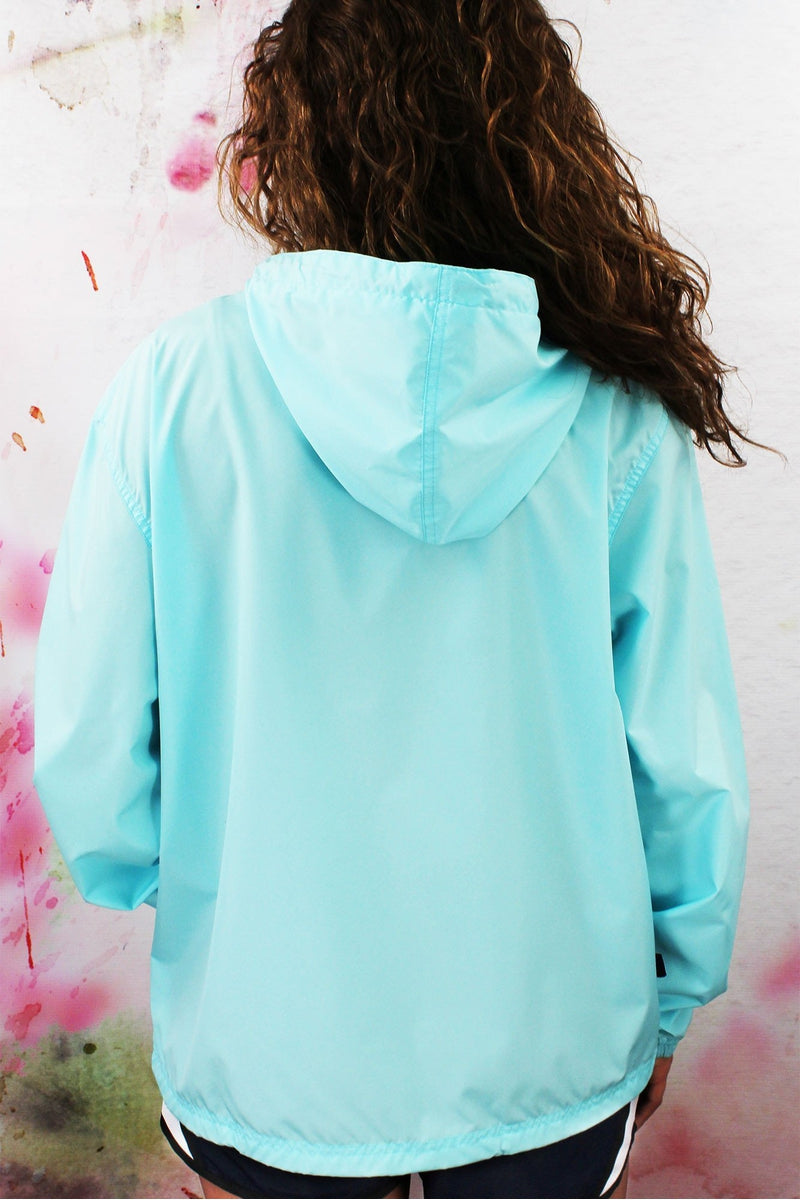 Charles River Lightweight Rain Pullover, Aqua #9904 *Customizable! (Wholesale Pricing N/A.. PLEASE ALLOW 3-5 BUSINESS DAYS.. EXPEDITED SHIPPING N/A) - Wholesale Accessory Market