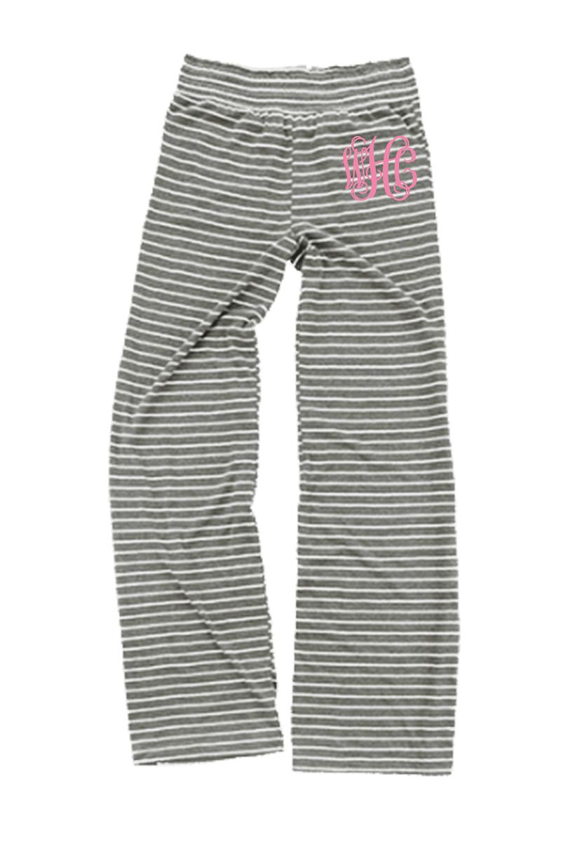 Granite Stripe Margo Pant #J15GRS *Personalize It (PLEASE ALLOW 3-5 BUSINESS DAYS. EXPEDITED SHIPPING N/A)