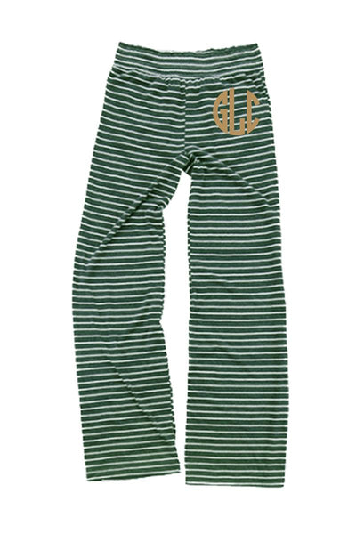 Hunter Stripe Margo Pant #J15HS *Personalize It (PLEASE ALLOW 3-5 BUSINESS DAYS. EXPEDITED SHIPPING N/A)