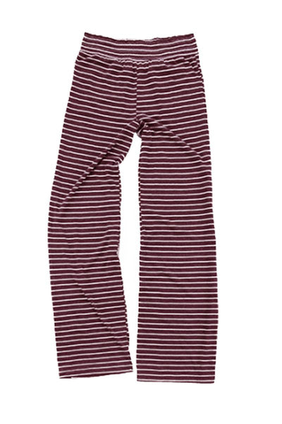 Boxercraft Maroon Stripe Margo Pant *Personalize It