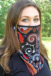 Feeling Retro Face Mask Neck Gaiter