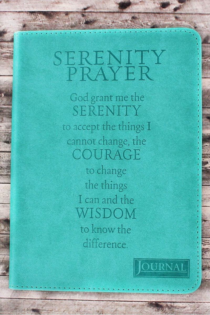 Serenity Prayer LuxLeather Flexcover Journal