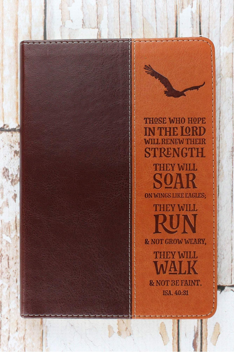 Isaiah 40:31 'Soar on Wings...' Luxleather Journal