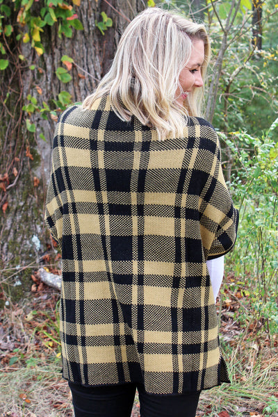 Moose Mountain Poncho Sweater, Camel
