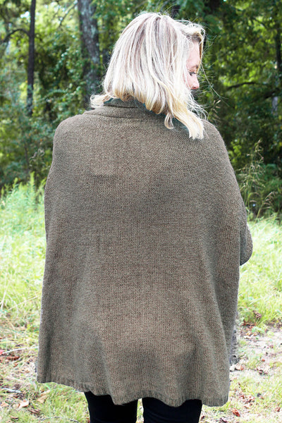 SALE! Taupe Of The Morning Sweater