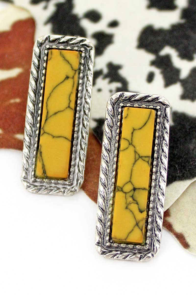 Yellow Bardovie Earrings
