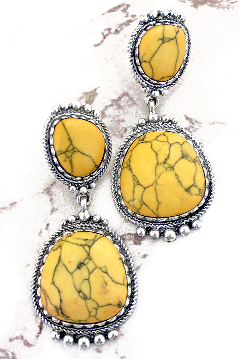 Yellow Angel Grove Earrings