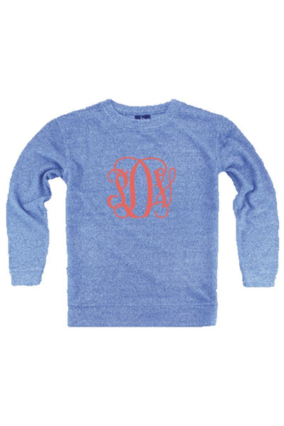 Cozy Crew, Royal #L01ROY *Personalize It! (PLEASE ALLOW 3-5 BUSINESS DAYS. EXPEDITED SHIPPING N/A)