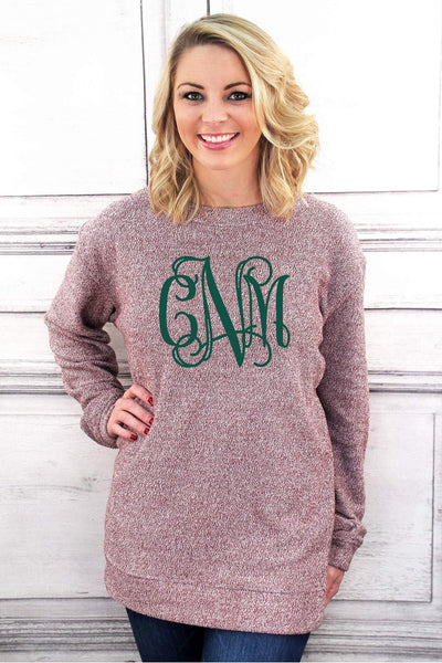Cozy Crew, Maroon #L01MAR *Personalize It! (PLEASE ALLOW 3-5 BUSINESS DAYS. EXPEDITED SHIPPING N/A)