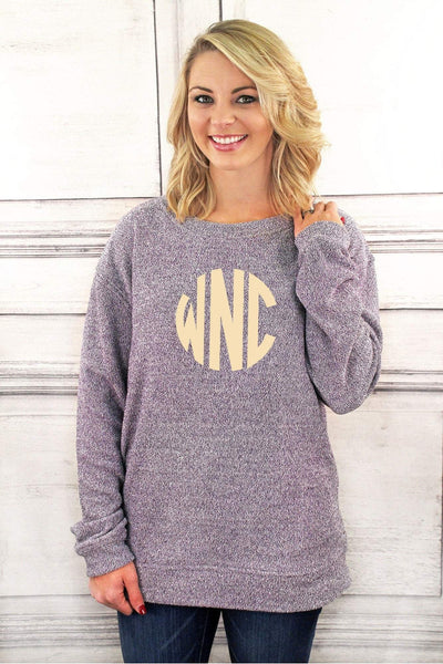 Cozy Crew, Purple #L01P *Personalize It! (PLEASE ALLOW 3-5 BUSINESS DAYS. EXPEDITED SHIPPING N/A)