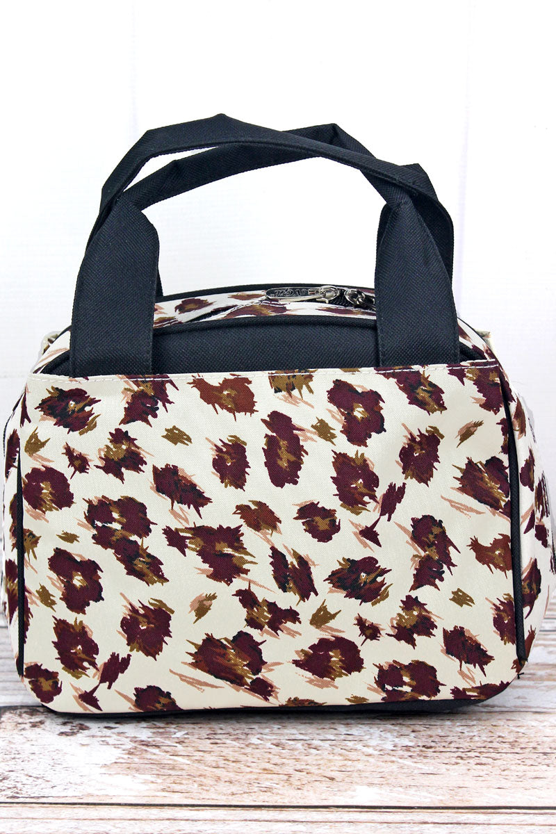 NGIL Feline Frenzy Insulated Bowler Style Lunch Bag