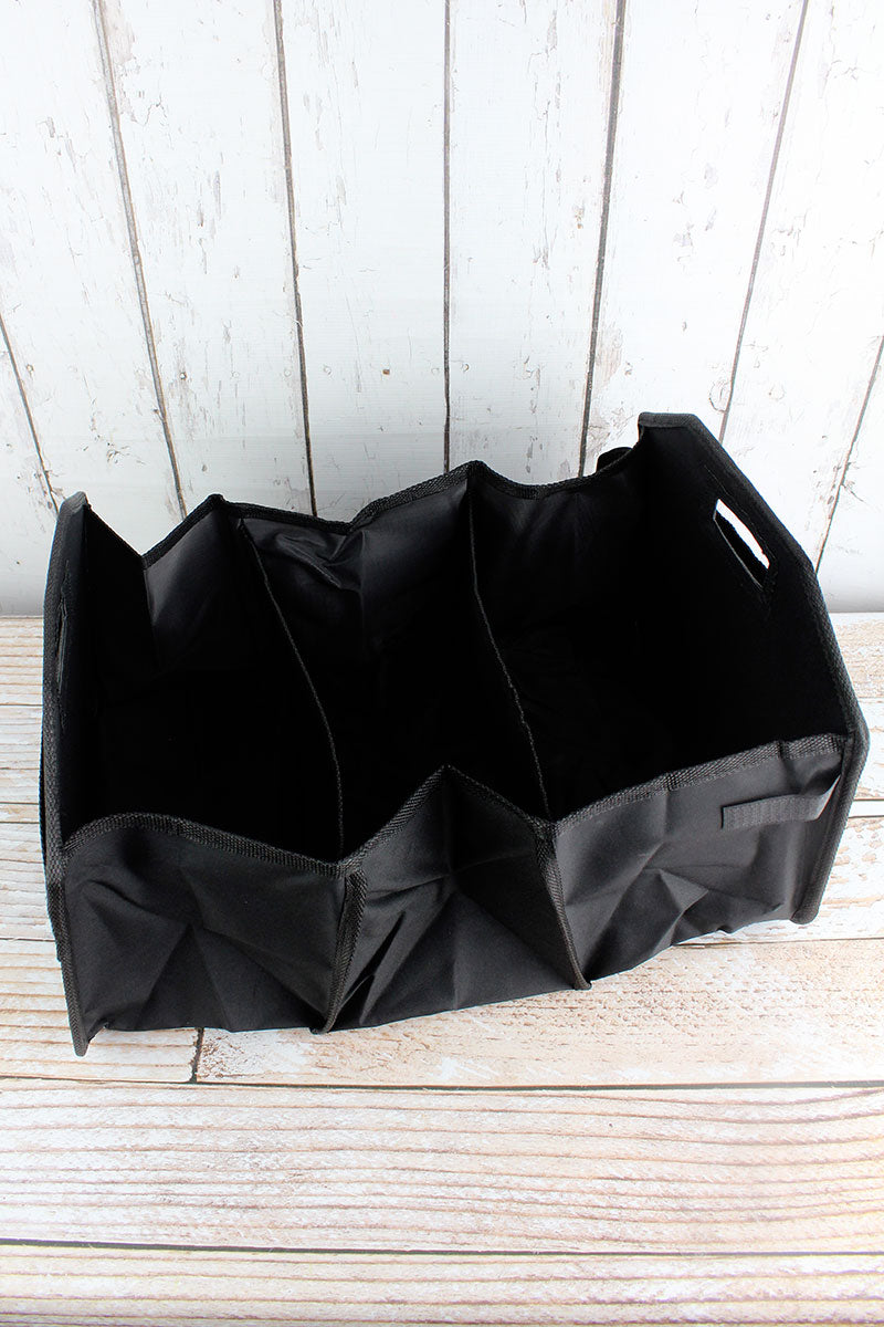 NGIL Black Utility Storage Tote with Insulated Bag