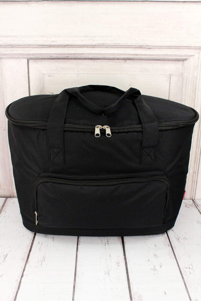 NGIL Black Cooler Tote with Lid